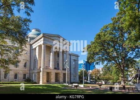 Le Capitole de l'état de la Caroline du Nord, Raleigh (Caroline du Nord, USA Banque D'Images