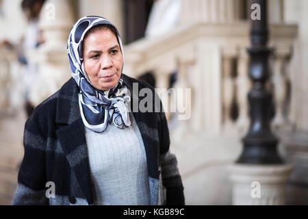Souici sadak / le pictorium - procès merah, latifa ibn ziaten elle est la mère d'Imad ibn ziaten, né en 1981, le Banque D'Images