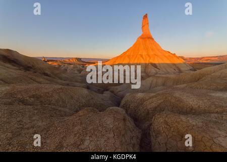 Castil de tierra, desert land en Navarra
