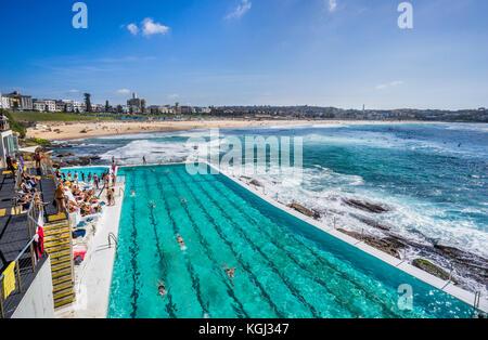 Piscine De Icebergs De Bondi Swimming Club Sydney Nsw Australie