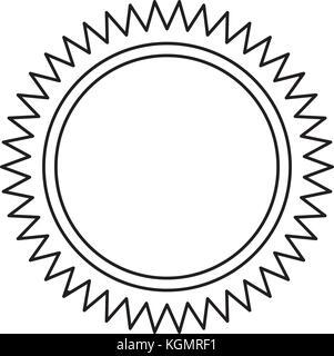 image d'icône de soleil Banque D'Images