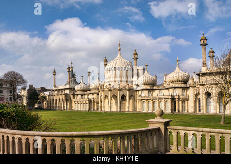 Royal Pavilion, Brighton, Sussex, England, UK. Banque D'Images