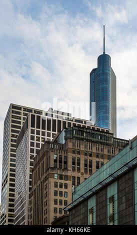Grande vue sur la ville