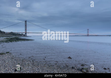 Humber Bridge, Sunrise Banque D'Images