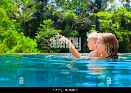 Le ons de natation pour enfants dans la piscine portrait - Taux d humidite dans une chambre de bebe ...