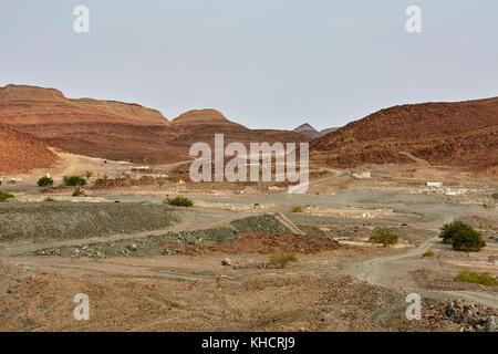 Brandberg Mine Ouest, Khorixas District, région de Kunene, Namibie, Afrique