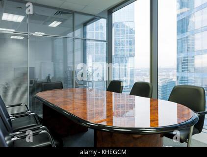 Salle de réunion moderne au bureau Banque D'Images