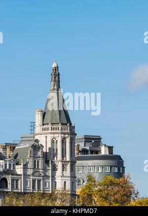 Londres, Royaume-Uni - octobre 17th, 2017: the Royal Horseguards construit en 1884 dans le style d'une comme le Banque D'Images
