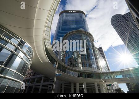 Le centre-ville de Houston au Texas Banque D'Images