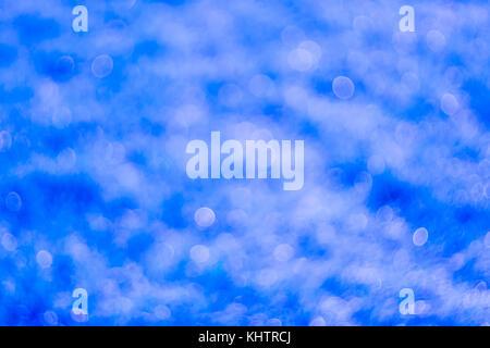 Résumé fond bleu avec texture floue, nature, de fonds, de beauté, de couleur, de rosée, juteuse, très belle, l'arrière Banque D'Images
