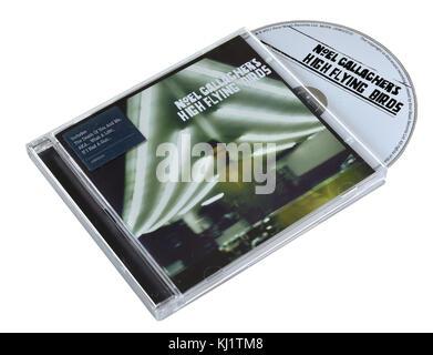 Noel Gallagher High Flying Birds album Banque D'Images