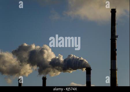 Gdansk Power Station (Elektrocieplownia) Wybrzeze à Gdansk, Pologne. 17 novembre 2017 © Wojciech Strozyk / Alamy Banque D'Images