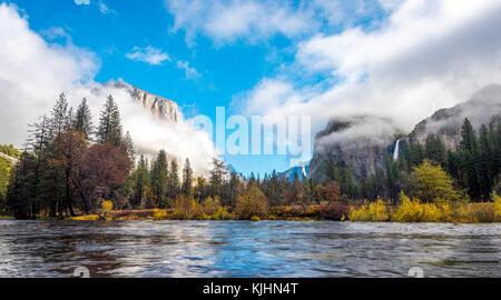 Paysage de Yosemite National Park, Californie