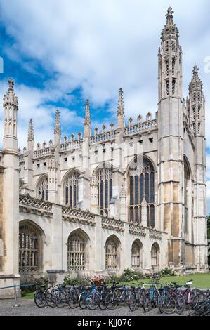 KING'S COLLEGE (1441) CAMBRIDGE CAMBRIDGESHIRE ROYAUME UNI Banque D'Images