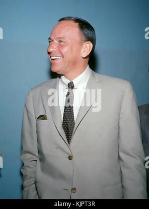 Frank SINATRA (1915-1998) chanteur et acteur américain de cinéma vers 1965