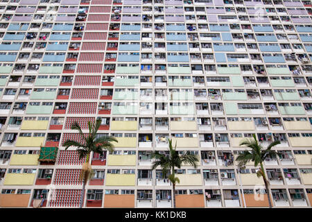 Choi Hung estate à hong kong, Chine Banque D'Images