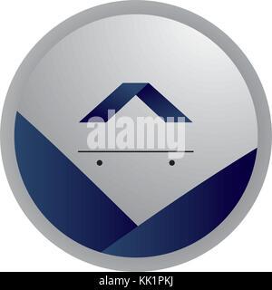 Bouton de marque design Banque D'Images