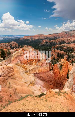 Le parc national de Bryce Canyon Banque D'Images