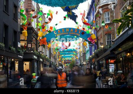 Carnaby Street Banque D'Images