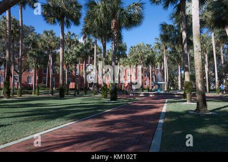 Stetson University College of Arts and Sciences, de l'autre, Boulevard DeLand, FL, United States Banque D'Images