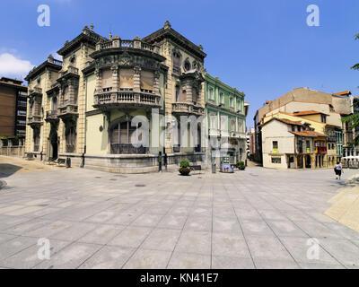 Palacio de Balsera à Aviles, région des Asturies, Espagne. Banque D'Images