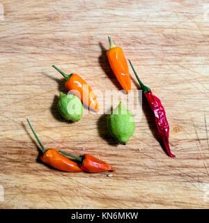 Assortiment de légumes miniatures Banque D'Images
