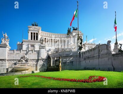 Monument à Piazza Venezia, Rome, Italie. Banque D'Images