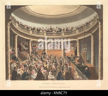 Institution de Surrey (Microcosme de Londres, pl. 81). Series/portefeuille: microcosme de Londres; Artist: conçu Banque D'Images