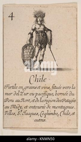 """Au Chili, du 'Jeu de la géographie"""" (Jeu de la géographie). Series/portefeuille: 'Jeu de la géographie"""" (Jeu de Banque D'Images"""