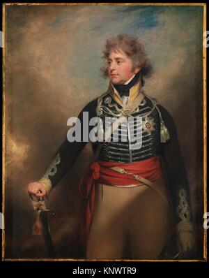 George IV (1762-1830), lorsque le Prince de Galles. Artiste : Sir William Beechey (British, Burford, Oxfordshire Banque D'Images