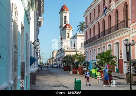 Catedral de la Purisima Concepcion, Cienfuegos, Cuba Banque D'Images