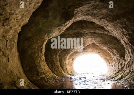 Cave Stream, Scanic Réserver, Castle Hill, du bassin de la région de Canterbury, île du Sud, Nouvelle-Zélande. Banque D'Images