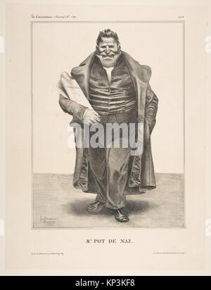 De Podenas, publiée dans La Caricature no. 130, 2 mai 1833, DP818591 393296 s'est réuni Banque D'Images