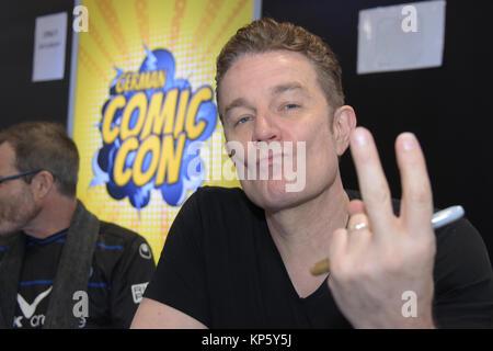 Dortmund, Allemagne - 9 décembre 2017: l'acteur américain James Marsters (* 1962, Spike sur Buffy the Vampire Slayer) Banque D'Images