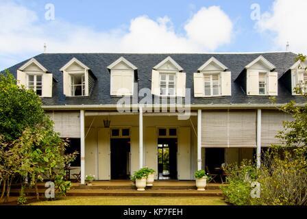 La Maison Creole Eureka, maison coloniale transformée en musée, Eureka Lane, Montagne Ory, moka, Ile Maurice, océan Indien, Afrique