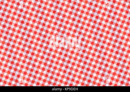 Le rouge et le blanc motif géométrique abstraite générée par ordinateur Banque D'Images
