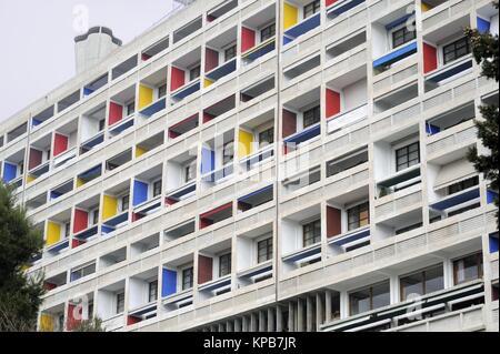 unit d 39 habitation logement con u par l 39 architecte le corbusier firminy rh ne alpes france. Black Bedroom Furniture Sets. Home Design Ideas