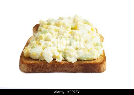 Sandwich aux œufs Banque D'Images