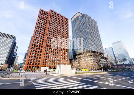Gratte-ciel de Tokyo Banque D'Images