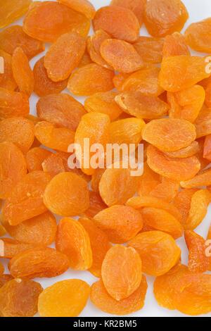 Close up d'un tas d'abricots secs Banque D'Images