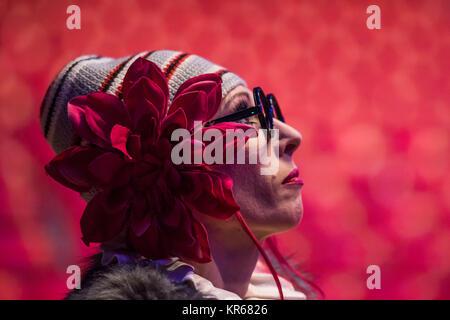 Londres, Royaume-Uni. 19 Décembre, 2017. Le duo des clowns, Chervotkins - Le Cirque d'État de Moscou revient à Ealing Banque D'Images