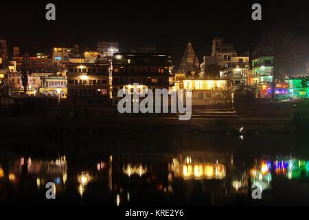 Ram Jula Laxman Jhoola Rishikesh Inde, vallée du Gange Banque D'Images
