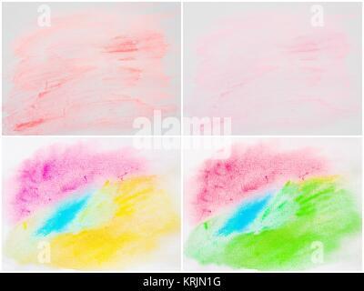 Collage de la couleur de l'eau fond texturé abstrait