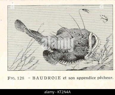 36913 Baudorie et son annexe Pecheur Banque D'Images