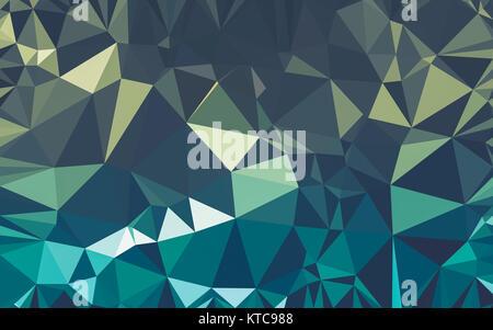 Abstract background, poly faible triangle géométrie