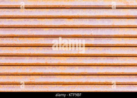 Rusty Metal texture panneaux. Ne peut être effectuée en arrière-plan. Banque D'Images