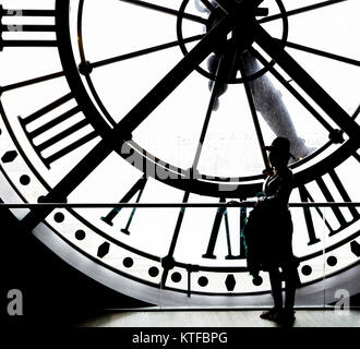 PARIS, FRANCE, 31 mars 2017: clockwork détails du musée d'Orsay, le 31 mars 2017, à Paris, France Banque D'Images