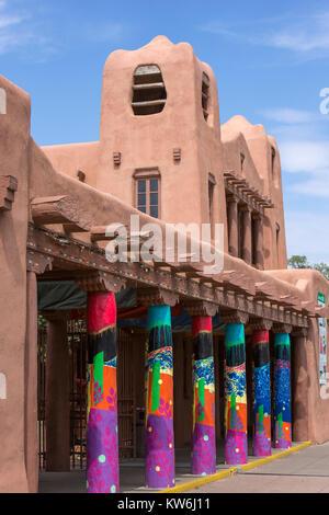 L'IAIA Musée des arts indigènes, Santa Fe, Nouveau Mexique Banque D'Images