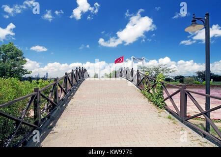 Otagtepe,préfecture Kavacik Istanbul.FSM Pont sur le Bosphore. Banque D'Images