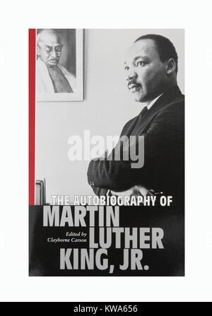 L'autobiographie de Martin Luther King Junior Banque D'Images